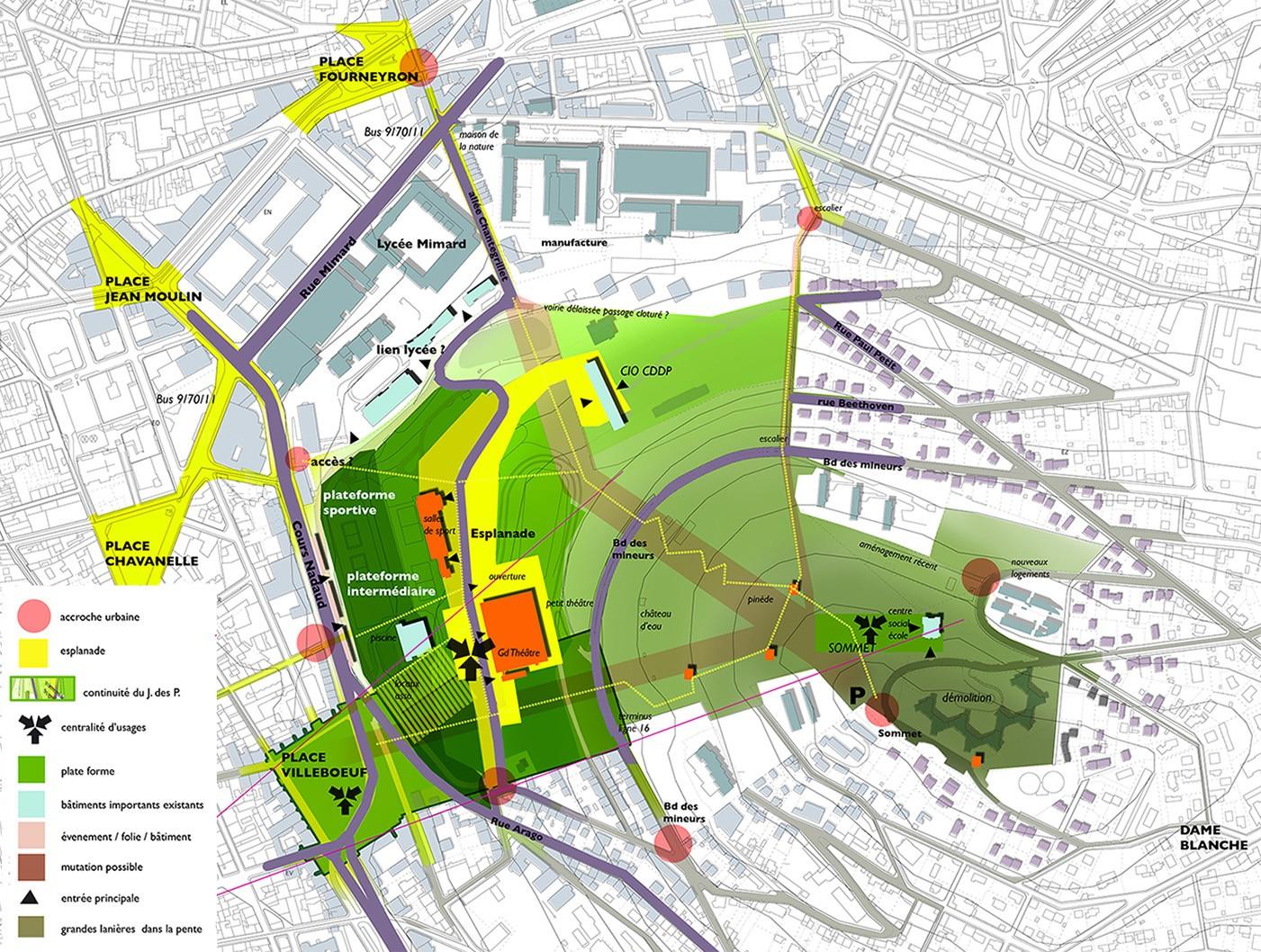 Tekhn architectes o est le jardin des plantes for 9 rue du jardin des plantes 69001 lyon