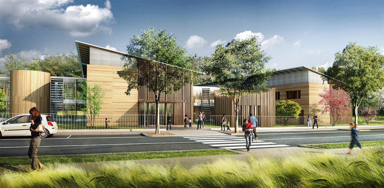 Tekhn architectes h pital de jour pour enfants psychotiques for Restauration hopital emploi